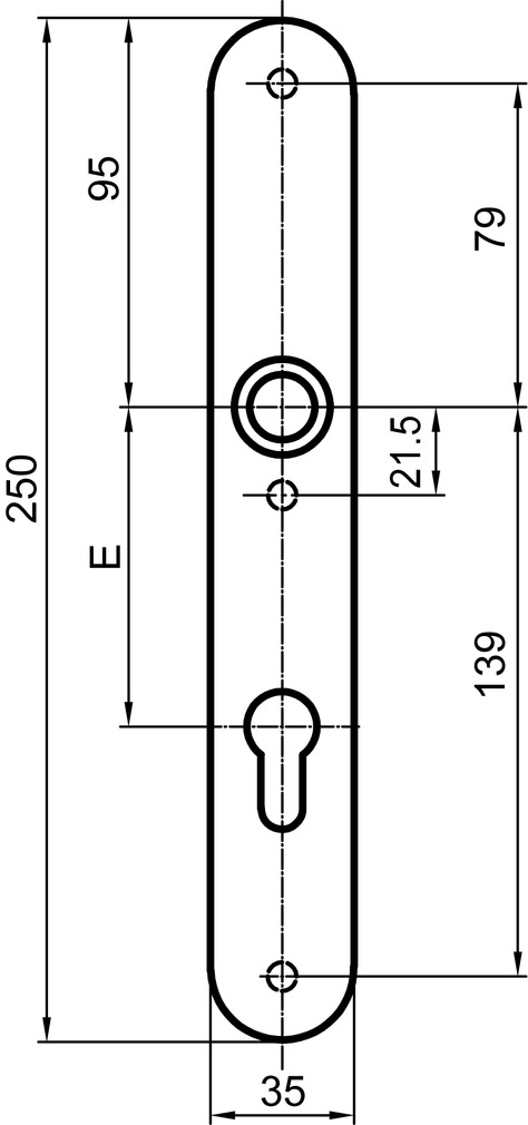 Cartelle lunghe interne GLUTZ 5359 easyfix