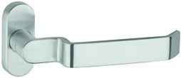 Poignées de porte parties à trou GLUTZ 50080 Assoluto