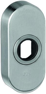 Rosaces pour boutons de porte GLUTZ 5610 CK