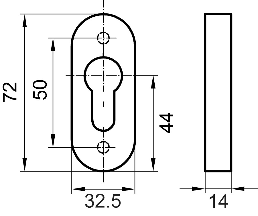 Entrées de clé GLUTZ 5310 C