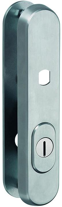 Schutztürschilder aussen GLUTZ 5465 K für Türknöpfe