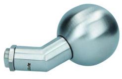 Boutons de porte coudé GLUTZ 5825 E