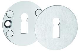Flächenbündige Schlüsselrosetten GLUTZ 51011 innen