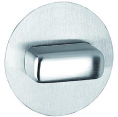 Rosette per porte WC a filo GLUTZ 51018.4 interna