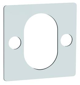 Plaquette d'épaisseur carré GLUTZ 59013