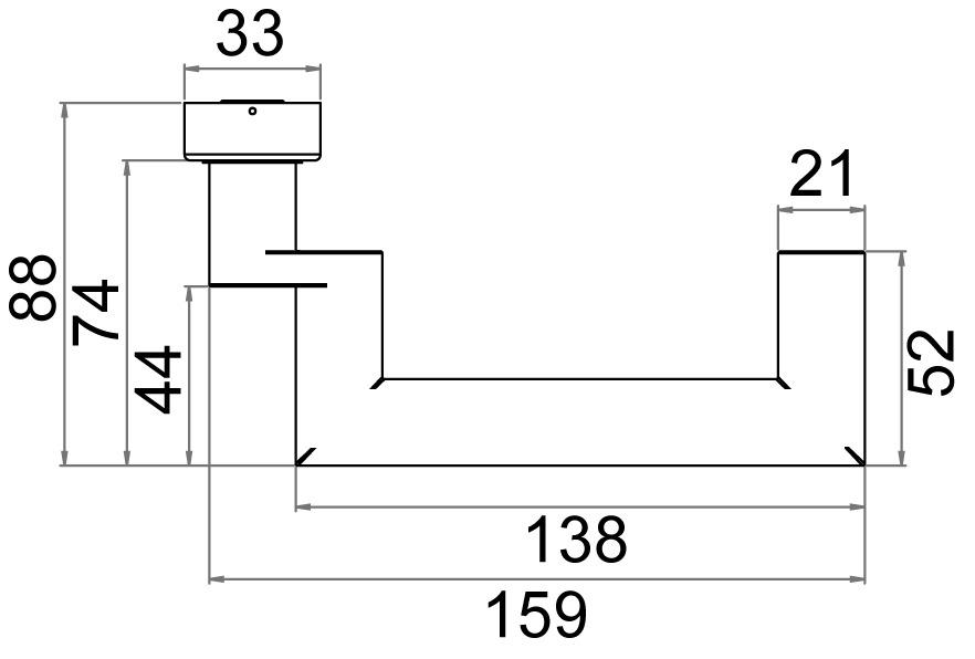 Semiguarnizioni di maniglie per porte OK-LINE