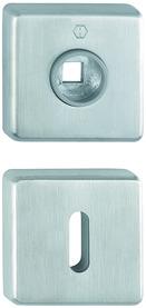 Rosaces pour poignées et entrées de clé HOPPE E52KV/E52KVS