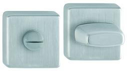 Garnitures de rosaces pour portes WC HOPPE E52KVS SK/OL