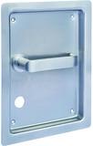 Einlass-Flachdrückergarnituren HEUSSER 655S20