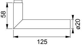 Garnitures de poignées de porte HOPPE E1400Z/E353FL/E353FL Amsterdam