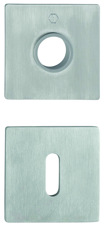 Drücker- und Schlüsselrosetten HOPPE E848N/E848NS