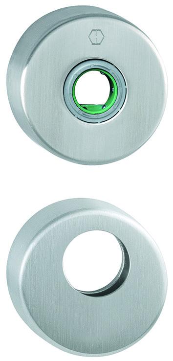 Drücker- und Schlüsselrosetten HOPPE FS-E42H/E42HS Sertos®