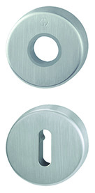Rosette per maniglie e bocchette per chiavi HOPPE