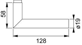 Garnitures de poignées de porte NICKAL