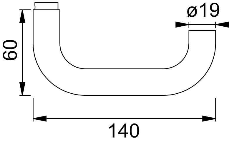 Guarnizioni di maniglie per porte NICKAL