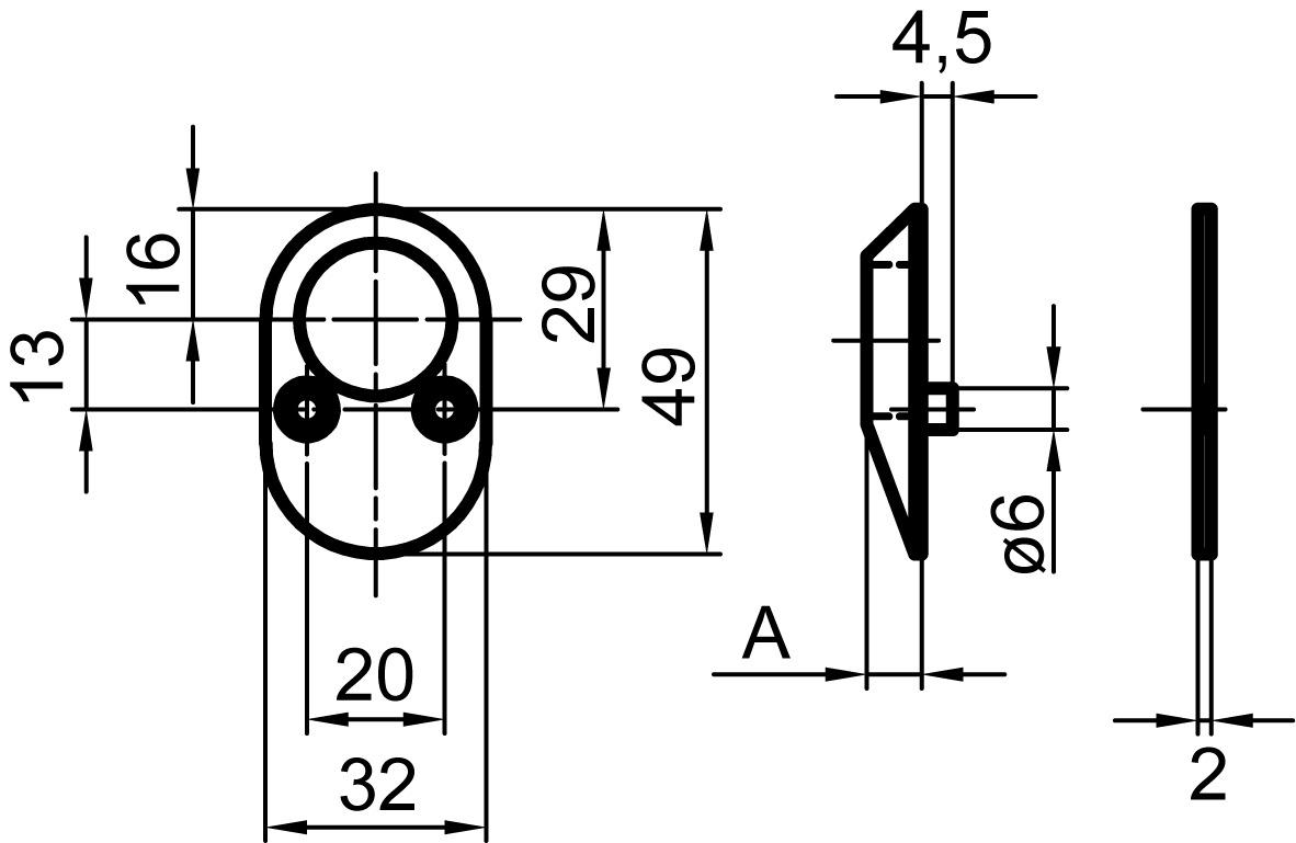 Bocchette di protezione per cilindri NICKAL 4042S