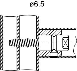 Kit di montaggio DORMA GZ 284
