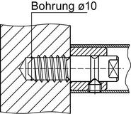 Kit di montaggio DORMA GZ 274