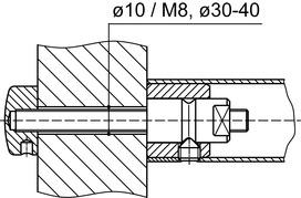 Sets de montage DORMA GZ 202