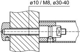 Montagesets DORMA GZ 202