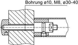 Kit di montaggio DORMA GZ 202