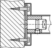 Kit di montaggio DORMA GZ 224