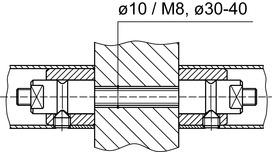 Sets de montage DORMA GZ 214