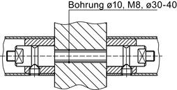 Kit di montaggio DORMA GZ 214