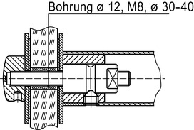 Kit di montaggio DORMA GZ 203