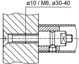 Kit di montaggio DORMA GZ 216