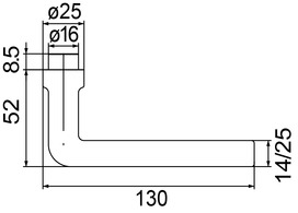 Poignées de porte MEGA 32.601 / 32.602 / 33.601
