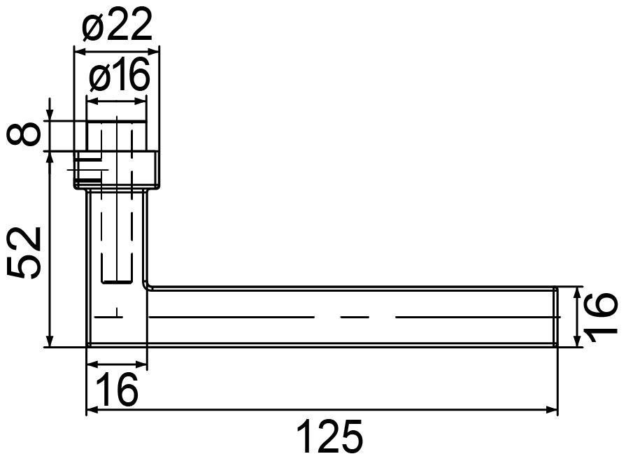 Türdrücker MEGA 32.410