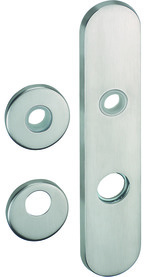 Türschilder für Zylinderschutzeinsätze NICKAL