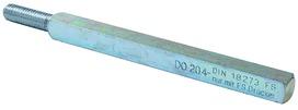 Perni di raccordo per quadri massicci per serrature con cricca apribile a chiave DORMA 115 FS M 8