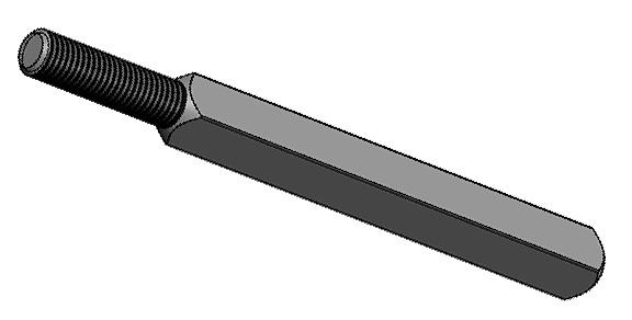 Tiges d'assemblage pour serrures avec levier M8 OK-LINE