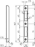 Controcartelle GLUTZ B-1001 / 1102