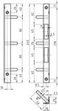 Winkelschliessbleche GLUTZ B-1307