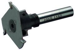 Fresa a gradini HWS con lame reversibili in metallo duro
