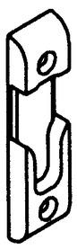 Lastrina di chiusura per perno a rullo GU