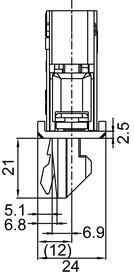 Serrature d'infilare antipanico SECURY-Automatic 1916 S