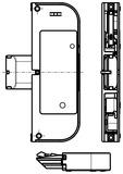 Bloccaggio supplementare per porte tagliafuoco GU-SECURY