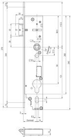 Elettroserrature antipanico BKS B-1956