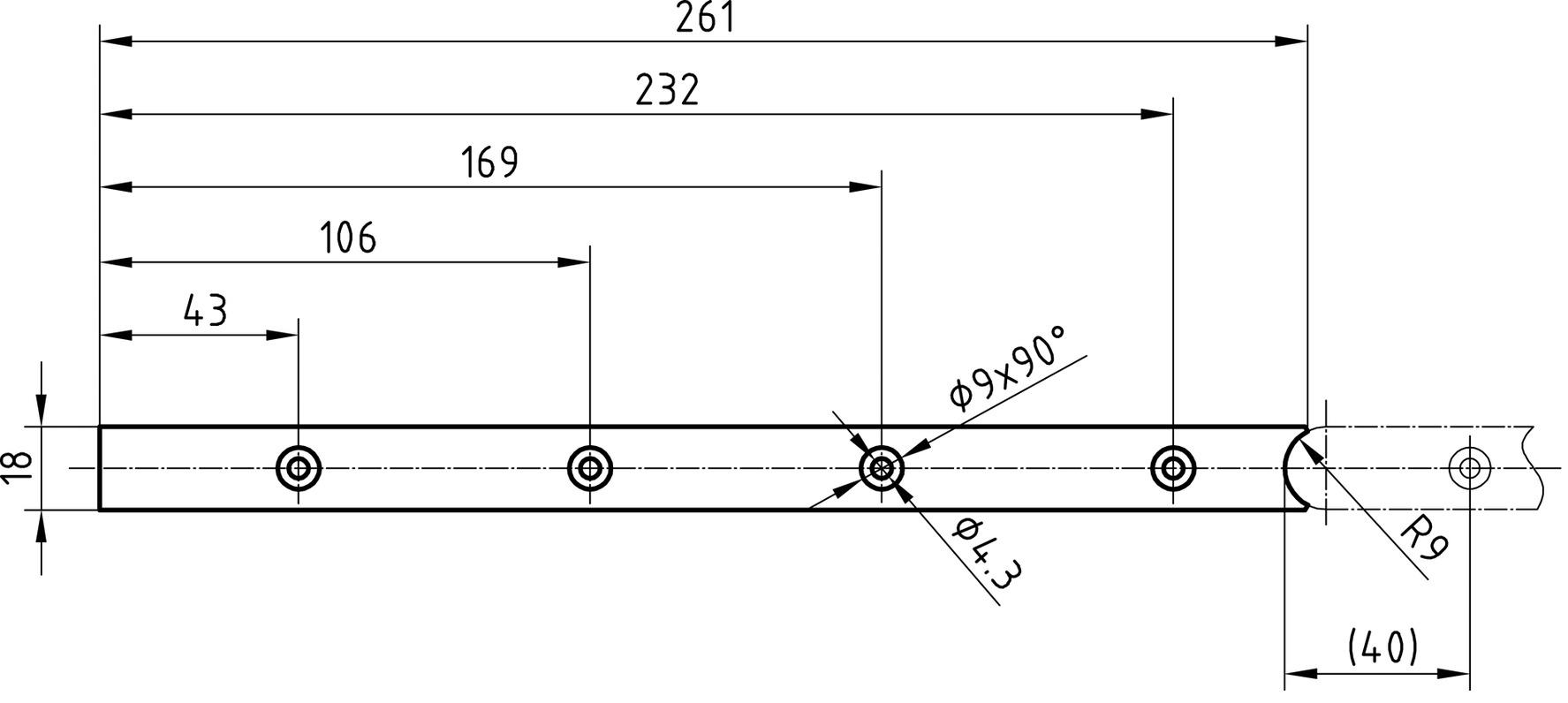 Têtières complémentaires GLUTZ B-1159