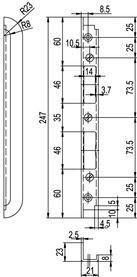 Controcartella GLUTZ B-1001 / B-1151