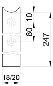 Têtière complémentaire MSL 1868.18/20