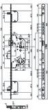 Serrures de sécurité à mortaiser MSL PANIK TRIBLOC 1859 PE-ZF