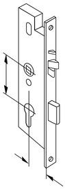 Serrature ANTIPANICO con funzione di chiusura automatica DORMA SVP 5000