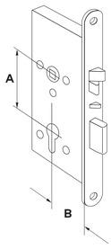 Serrures anti-panique mécanique à verrouillage automatique et contacts d'informations DORMA SVP 4000