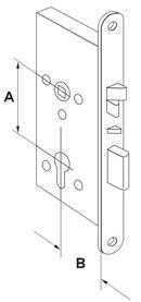 Serrures anti-panique mécanique à verrouillage automatique DORMA SVP 5000
