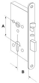 Serrures anti-panique électrique à béquille embrayableet verrouillage automatique DORMA SVP 6000